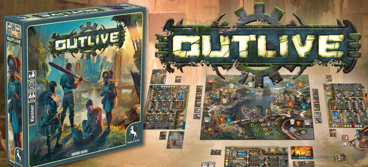 Outlive (Brettspiel) von Pegasus Spiele
