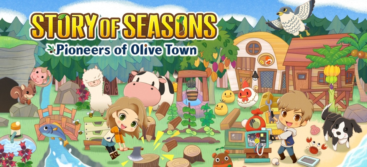 Story of Seasons: Pioneers of Olive Town (Simulation) von Marvelous