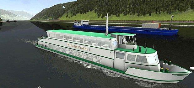 Schiff-Simulator 2012 - Binnenschifffahrt  (Simulation) von Astragon