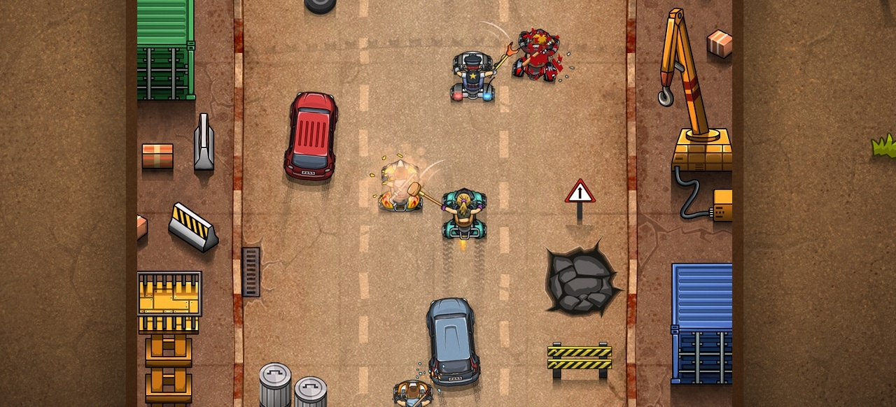 Rude Racers (Rennspiel) von Famous Dogg Studios / Absolute Games