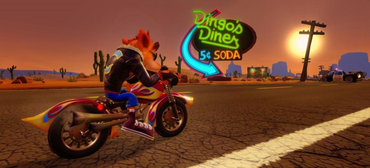 Crash Tag Team Racing (Rennspiel) von Vivendi Universal