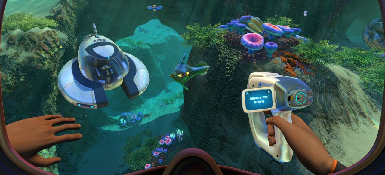 Subnautica (Survival & Crafting) von Unknown Worlds Entertainment / Gearbox Publishing