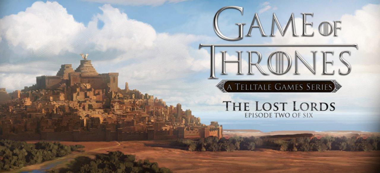 Game of Thrones - Episode 2: The Lost Lords (Adventure) von Telltale Games