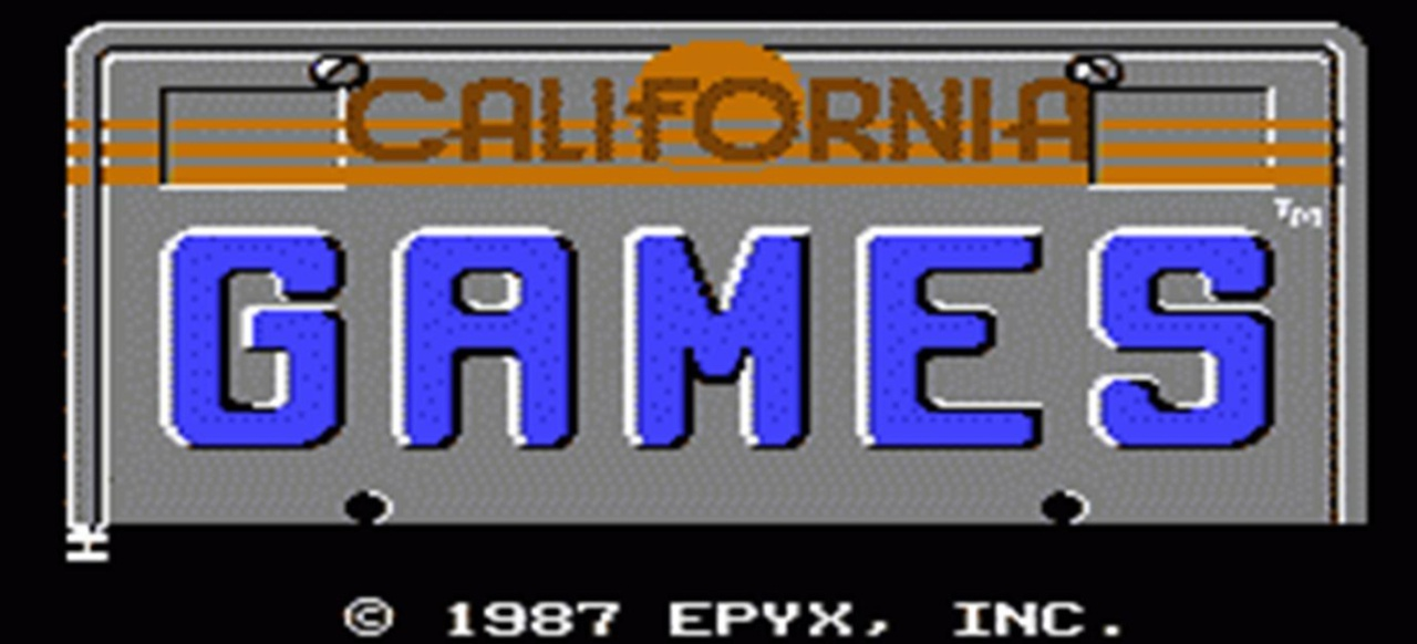 California Games (Oldie) (Sport) von Epyx