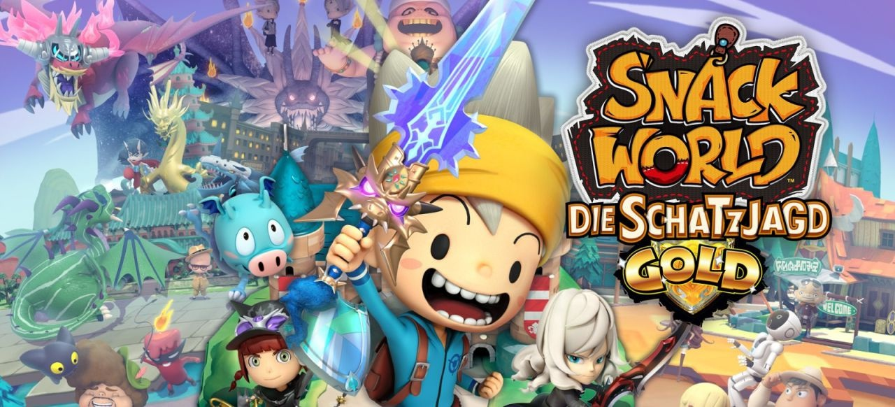 Snack World: Die Schatzjagd - Gold (Rollenspiel) von Nintendo