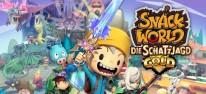 Snack World: Die Schatzjagd - Gold: Kooperatives Action-Rollenspiel der Professor-Layton-Macher im Anmarsch