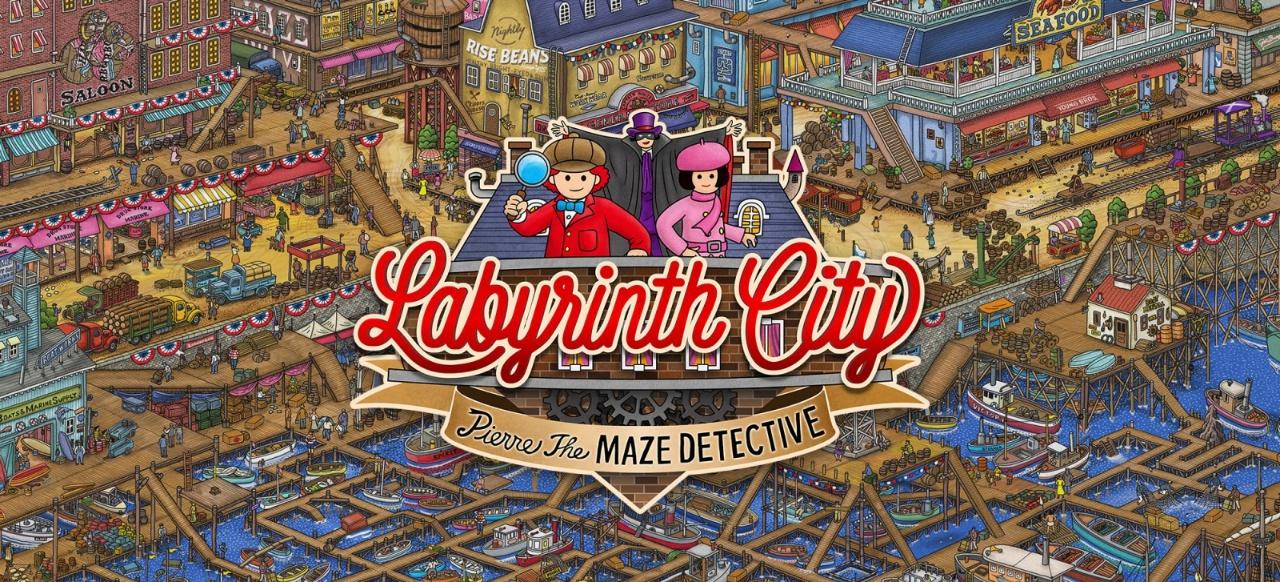 Labyrinth City: Pierre the Maze Detective () von Pixmain