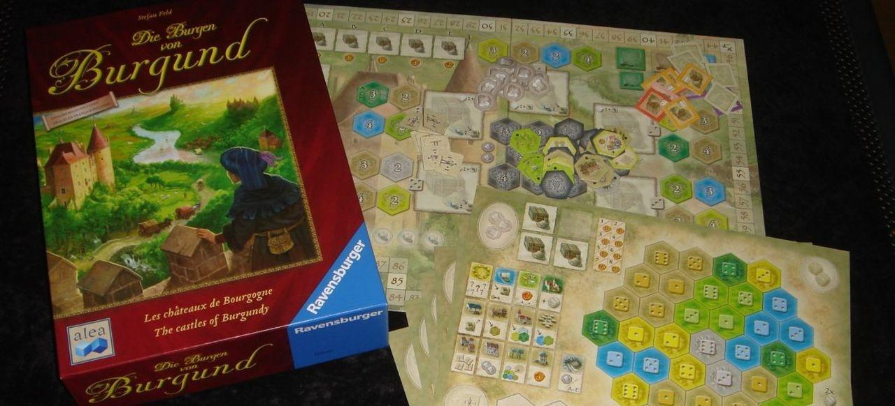 Die Burgen von Burgund (Brettspiel) von Ravensburger / Heildelberger Spielverlag / Digidiced