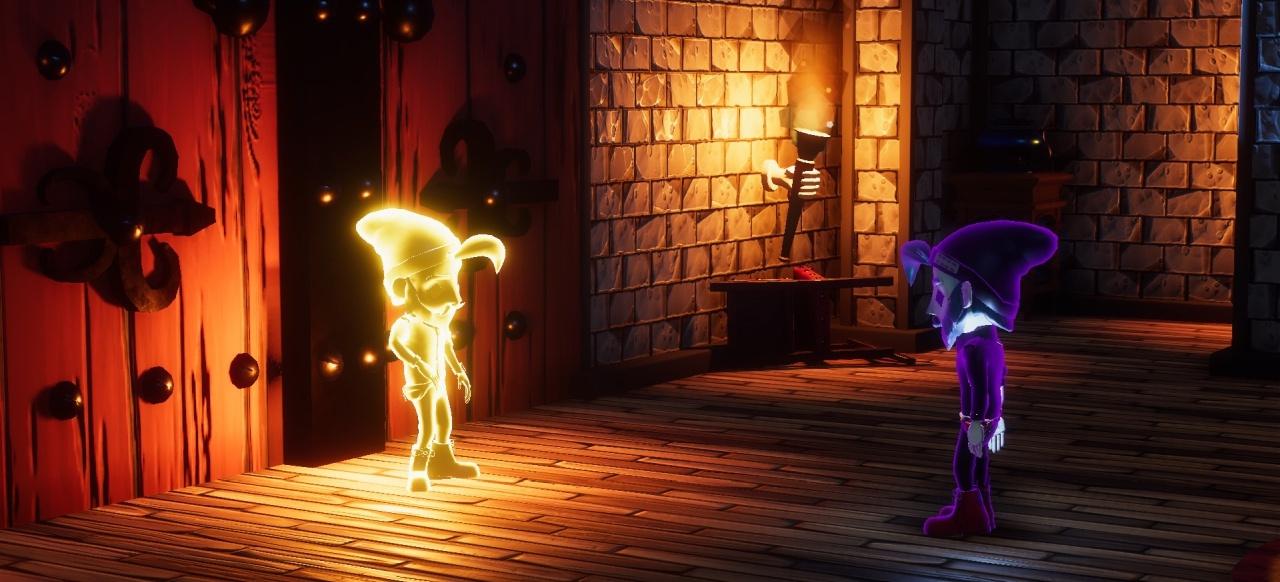 From the Shadows (Plattformer) von Team Spooky / Gamagora ICOM