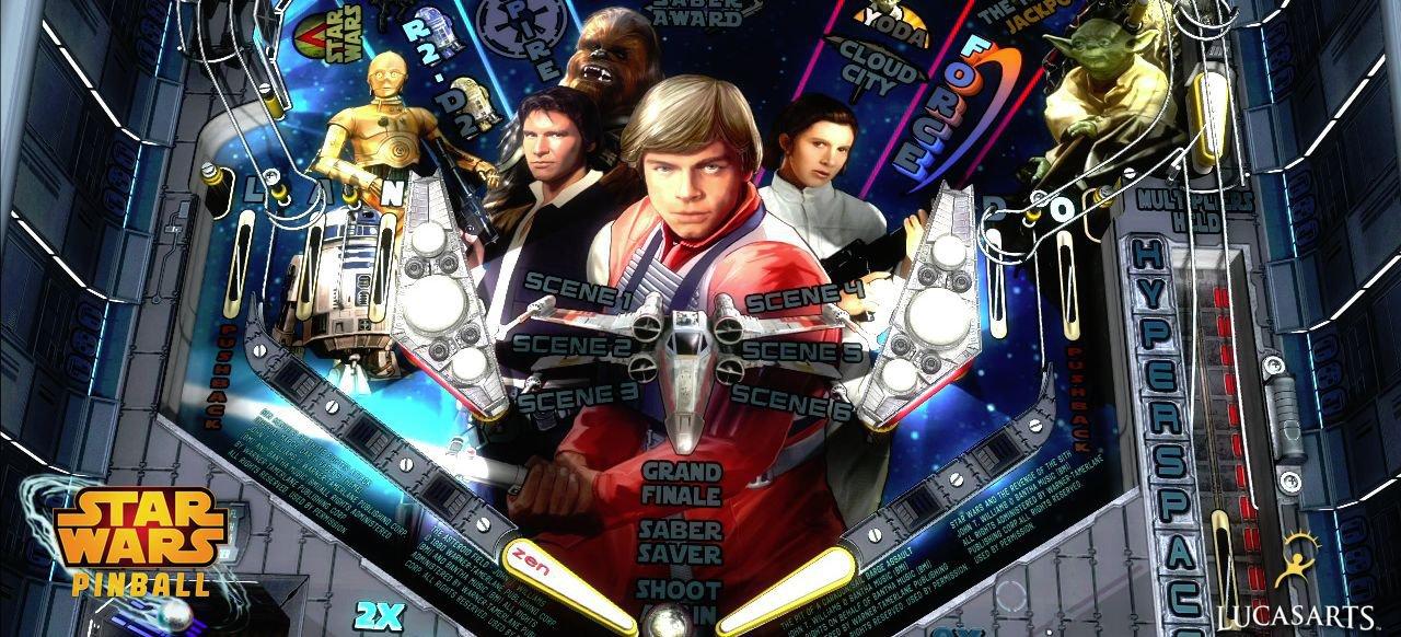 Star Wars Pinball (Geschicklichkeit) von Zen Studios
