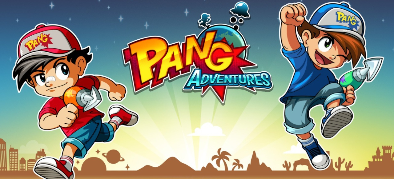 Pang Adventures (Arcade-Action) von Dotemu