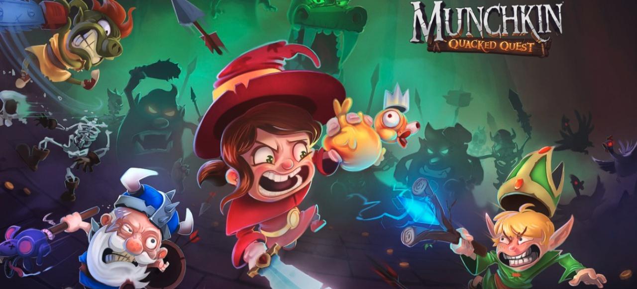 Munchkin: Quacked Quest (Strategie) von Asmodee Digital