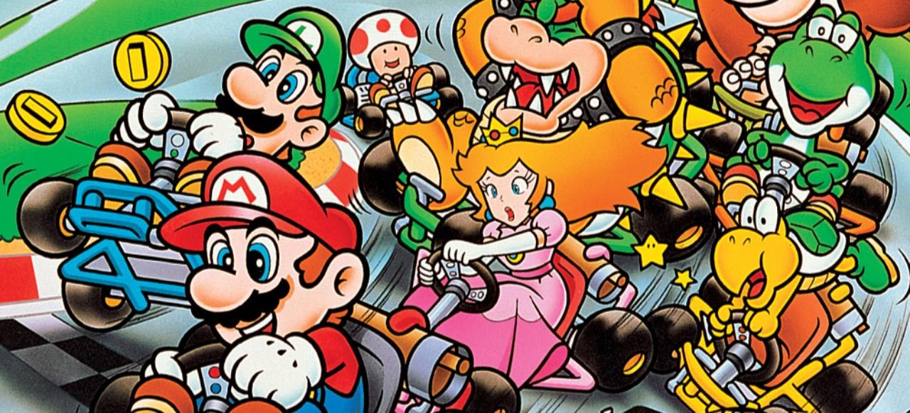 Super Mario Kart (Rennspiel) von Nintendo