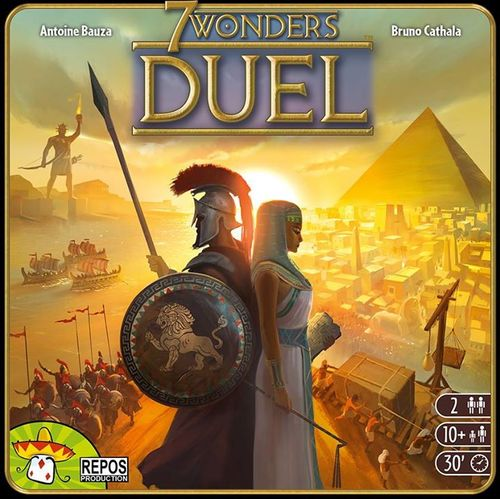 Alle Infos zu 7 Wonders Duel (Spielkultur)