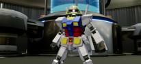 New Gundam Breaker: Ausführliche Spielszenen: Roboterkampf und Roboterbau