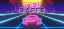 Music Racer: Stylisches Auto-Musikspiel erscheint Ende Januar für PS4, One und Switch