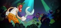 Redneck Ed: Astro Monsters Show: TV-Show-Brawler im Cartoon-Stil für PC im Anmarsch