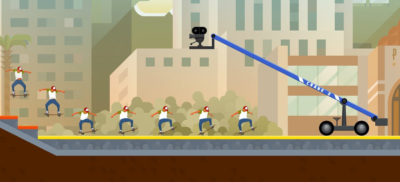 OlliOlli2: Welcome to Olliwood (Arcade-Action) von Devolver Digital
