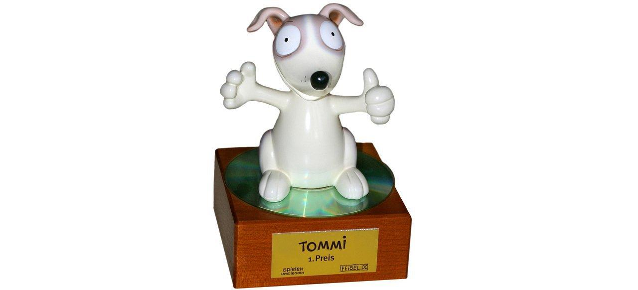 Deutscher Kindersoftwarepreis TOMMI (Awards) von Family Media Verlag und Feibel.de