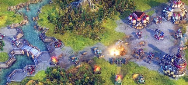 Battle Worlds: Kronos (Strategie) von Crimson Cow / Nordic Games