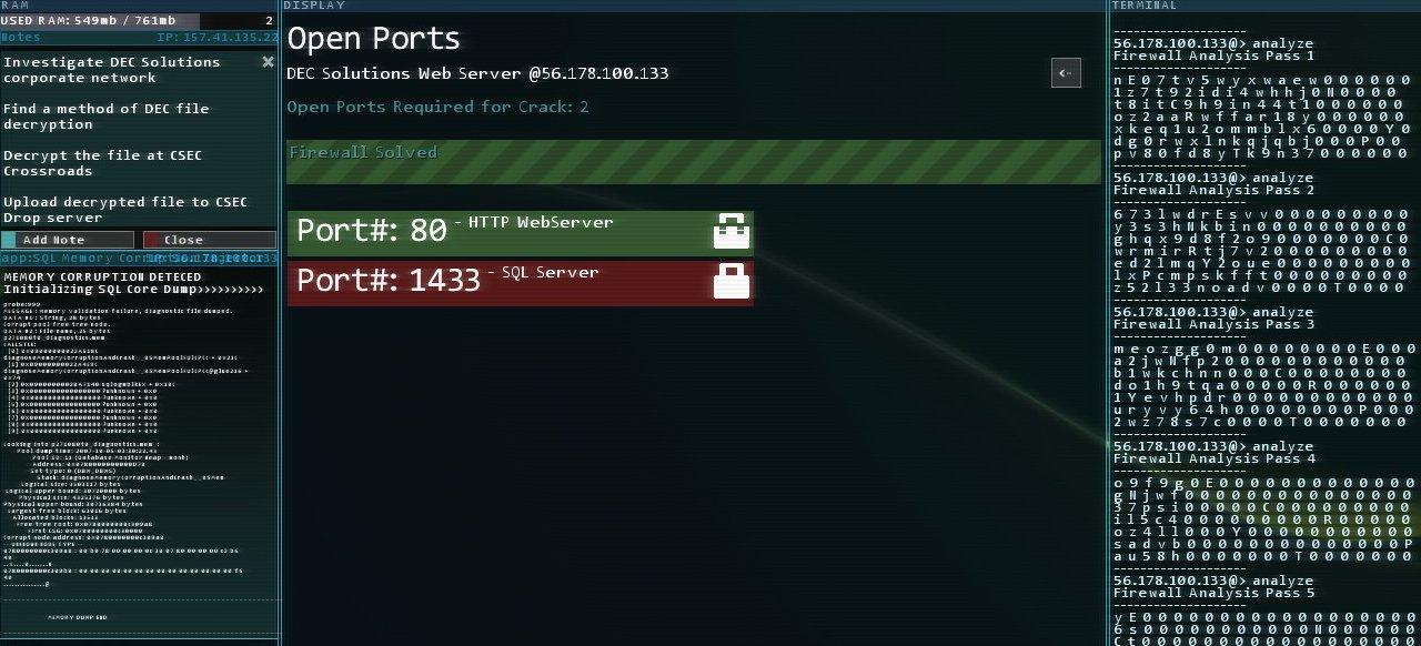 Hacknet (Geschicklichkeit) von Surprise Attack Games