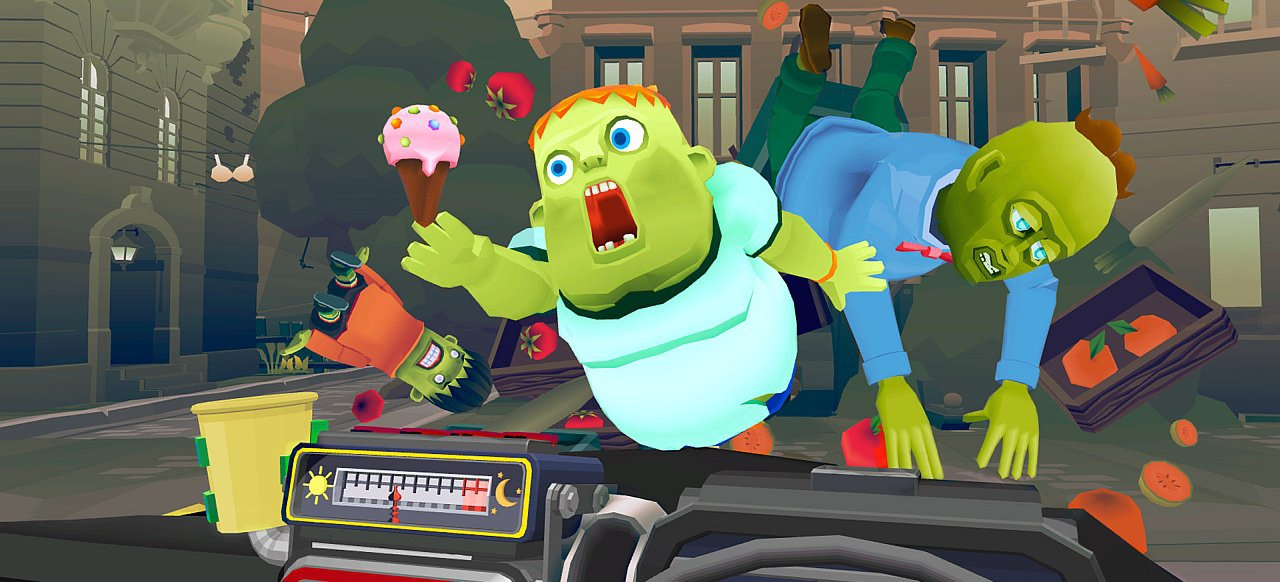 The Modern Zombie Taxi Co. (Rennspiel) von Sony
