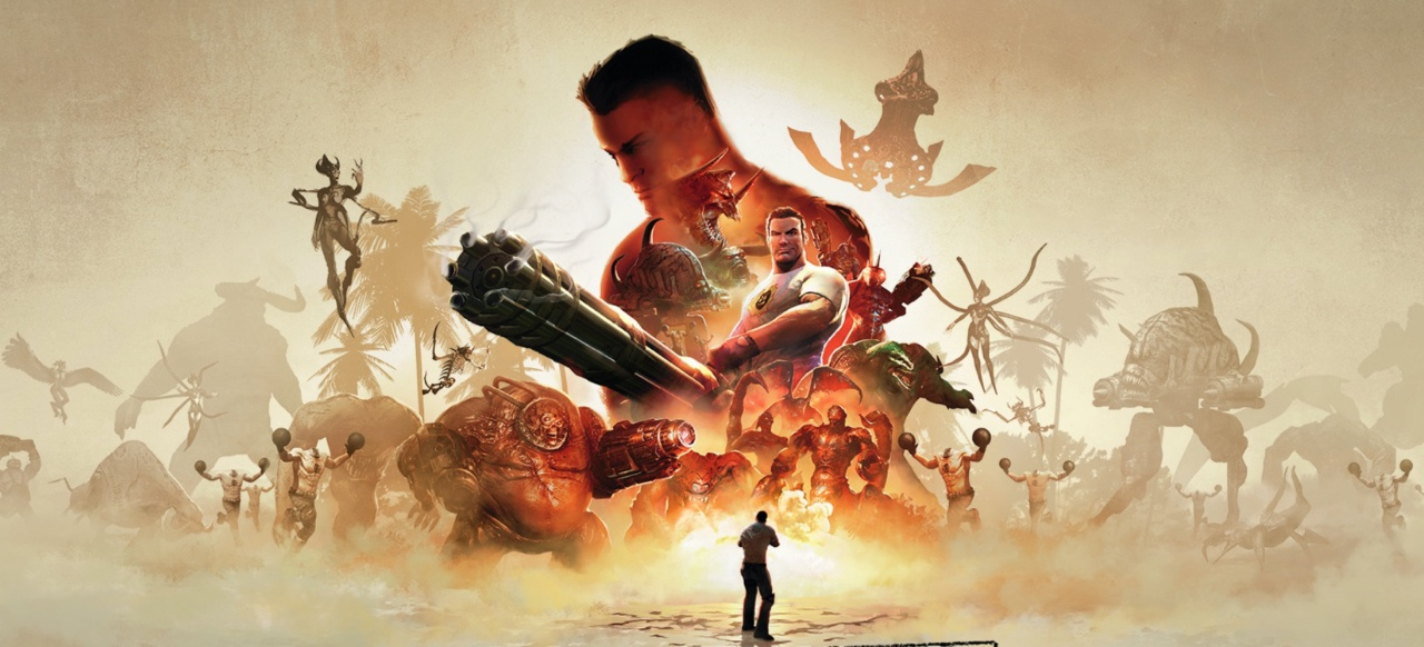 Serious Sam Collection (Shooter) von Mastertronic / Devolver Digital