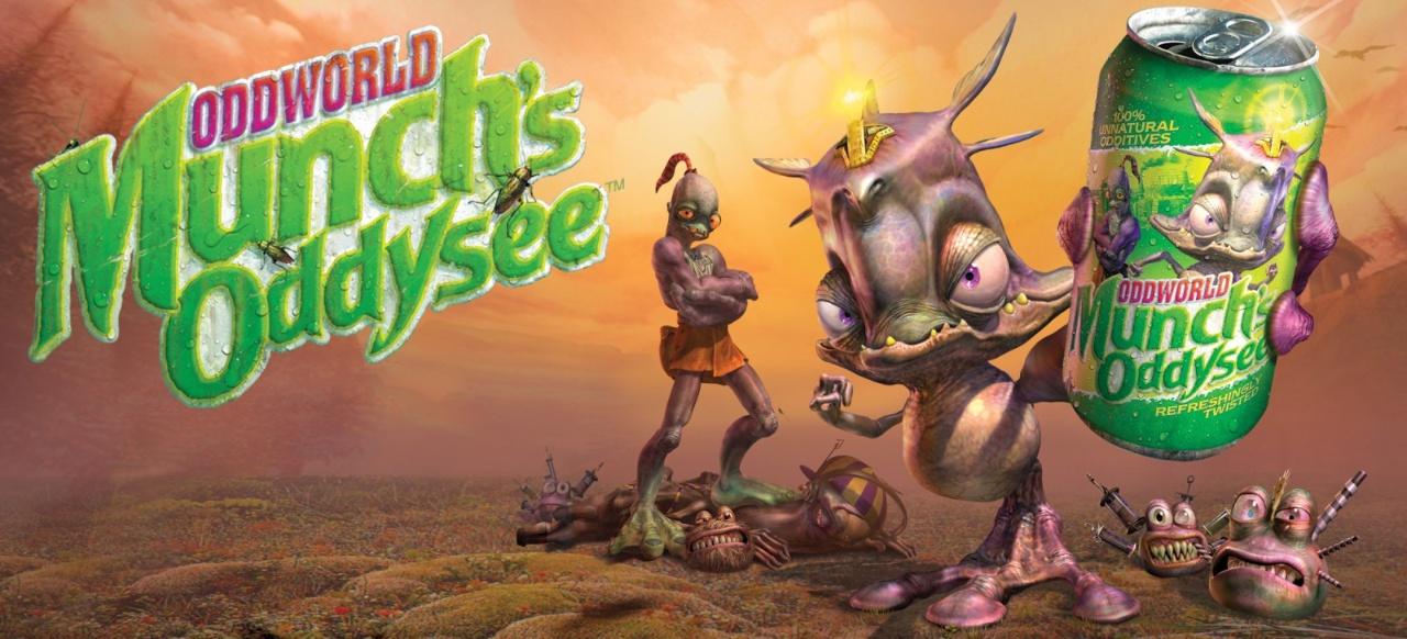 Oddworld: Munch's Oddysee (Action-Adventure) von Infogrames / Atari / THQ /Microsoft / Oddworld