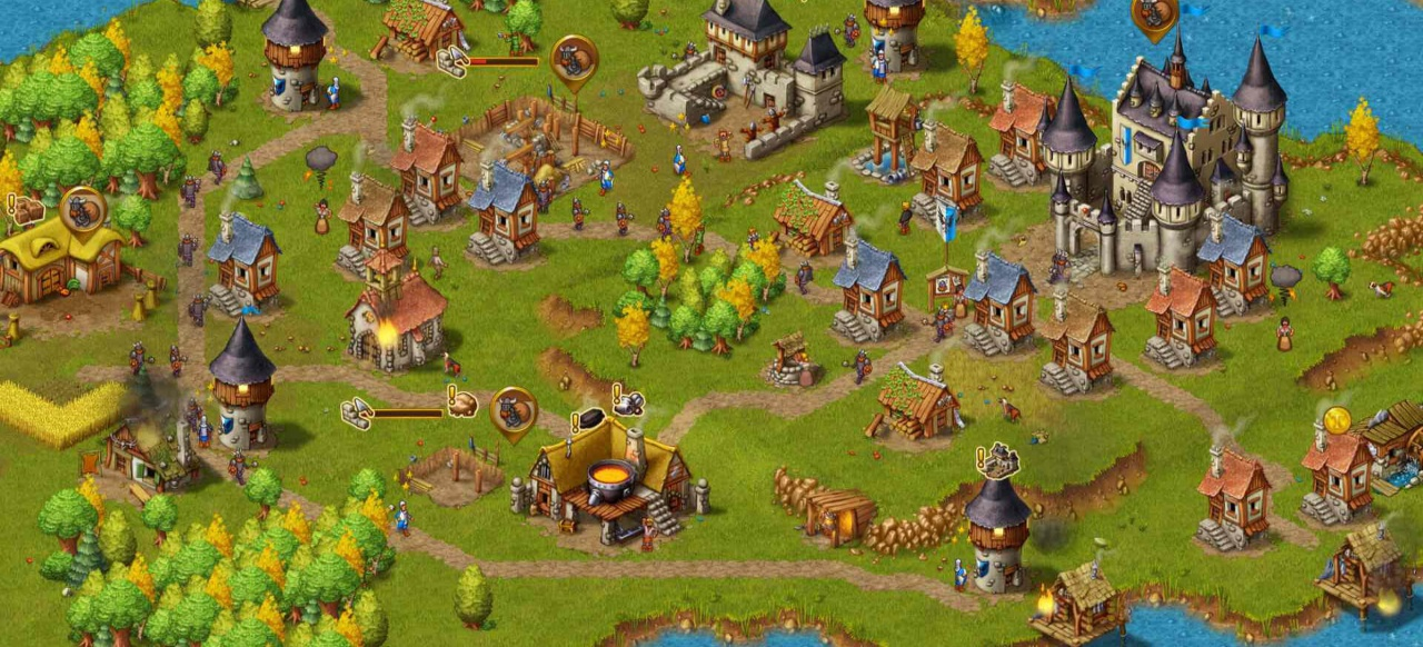 Townsmen (Taktik & Strategie) von Headup Games / HandyGames