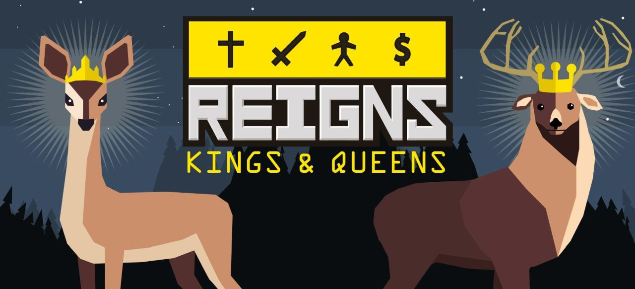 Reigns: Kings & Queens (Strategie) von Devolver Digital