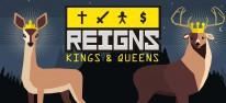 Reigns: Kings & Queens: Strategiespiel-Bundle aus Reigns und Reigns: Her Majesty für Switch veröffentlicht