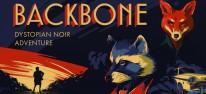 Backbone: Ein Waschbär-Privatdetektiv in einer dystopischen Tiergesellschaft mit Geruch-Stealth