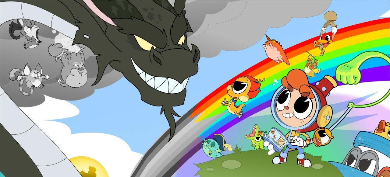 Rainbow Billy: The Curse of the Leviathan (Plattformer) von Skybound Games