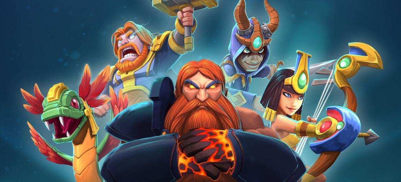 Smite Rivals (Taktik & Strategie) von Hi-Rez Studios