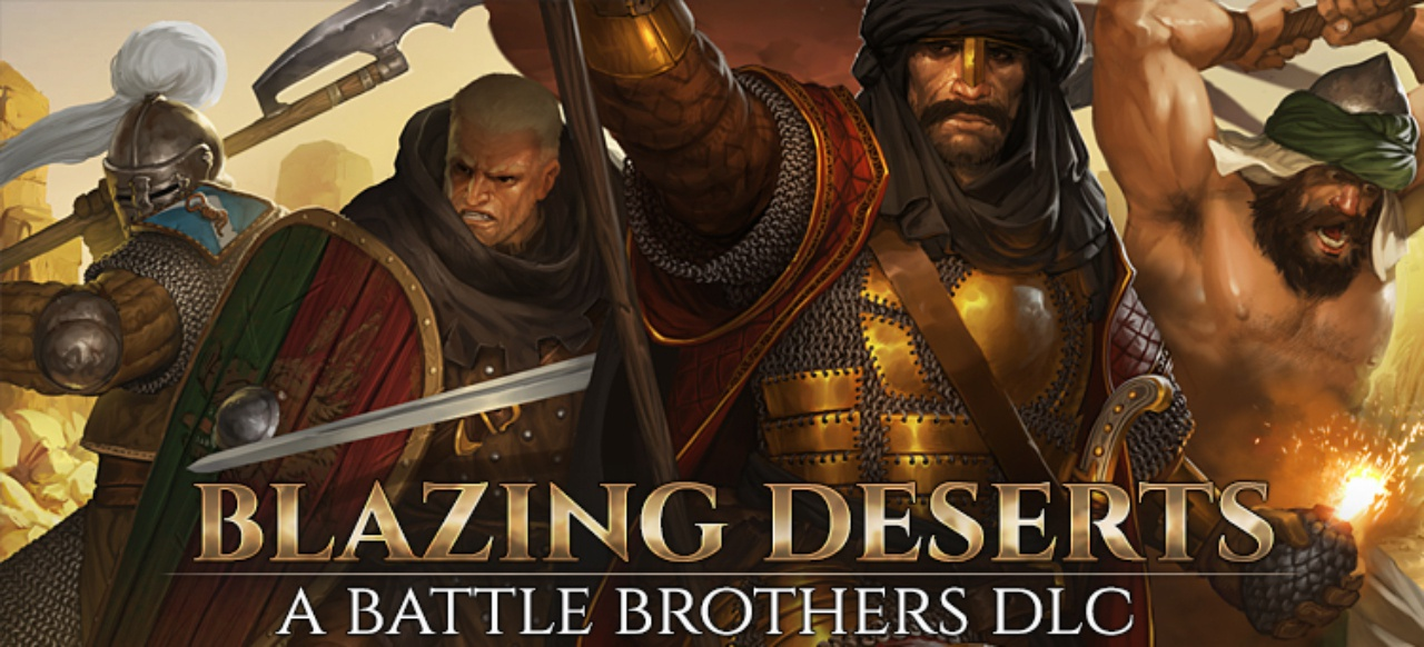 Battle Brothers: Blazing Deserts (Taktik & Strategie) von Overhype Studios