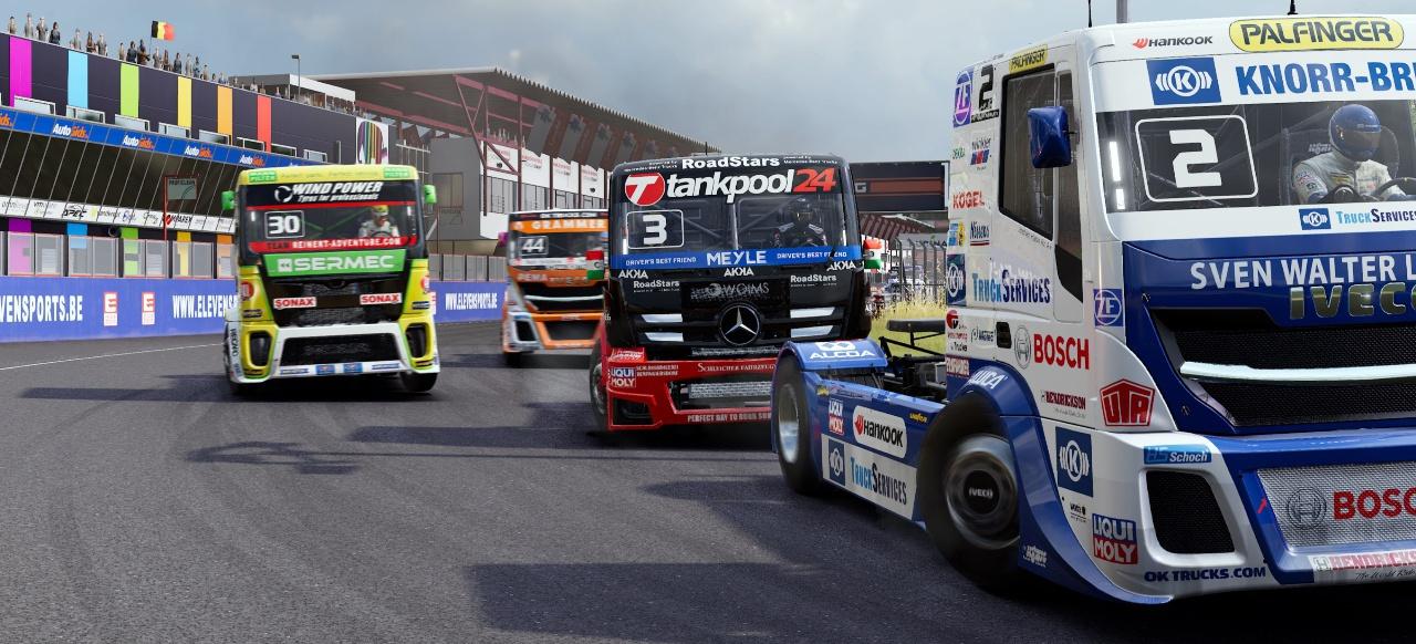 FIA European Truck Racing Championship (Rennspiel) von Bigben