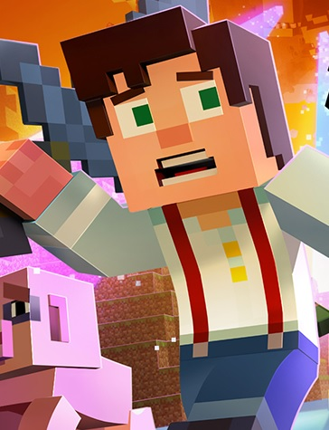 Alle Infos zu Minecraft: Story Mode - Episode 6: A Portal to Mystery (360,Android,iPad,iPhone,Mac,PC,PlayStation3,PlayStation4,XboxOne)