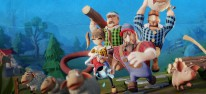 Lumberhill: Kooperative Holzfäller-Action im Anmarsch