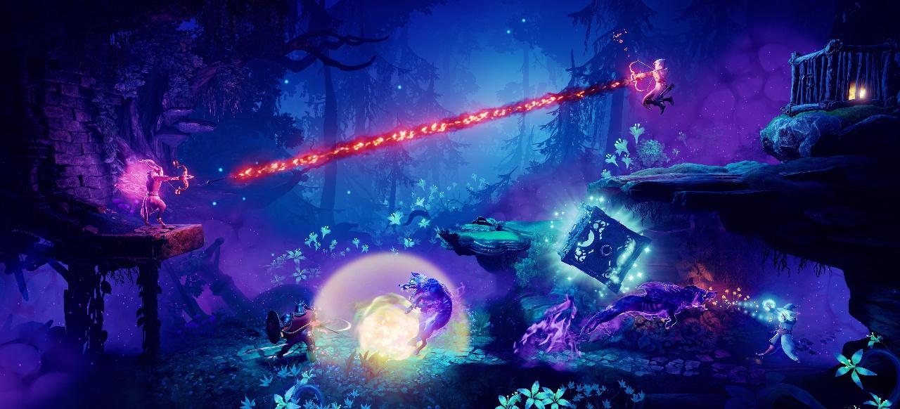 Trine 4: The Nightmare Prince (Plattformer) von Modus Games / Astragon
