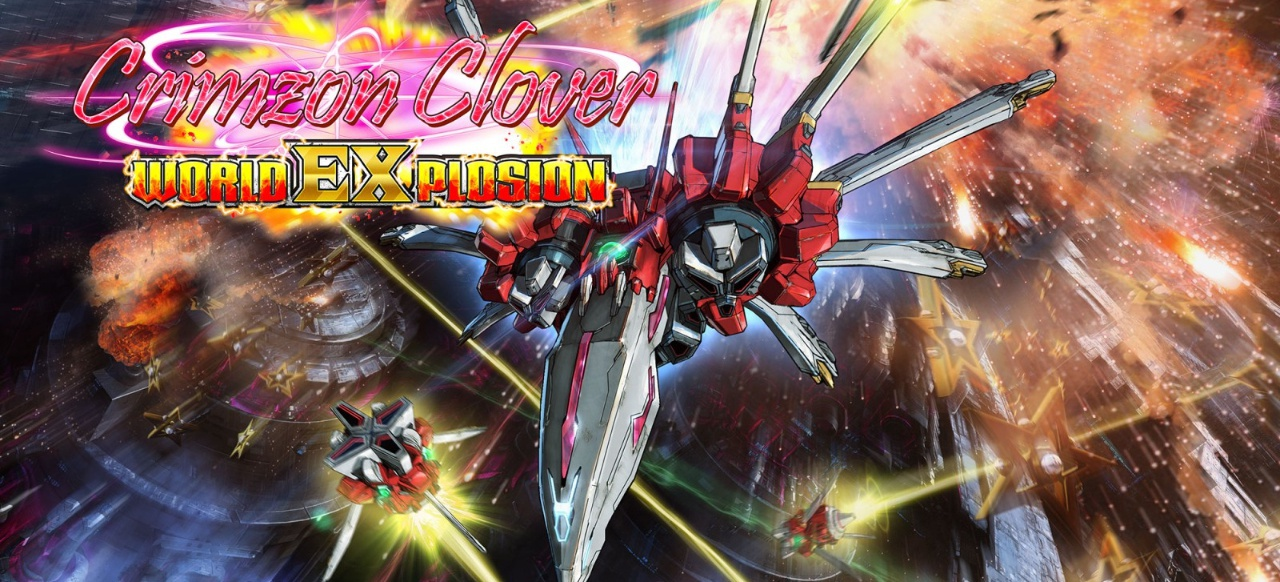 Crimzon Clover - World EXplosion (Arcade-Action) von Degica Games