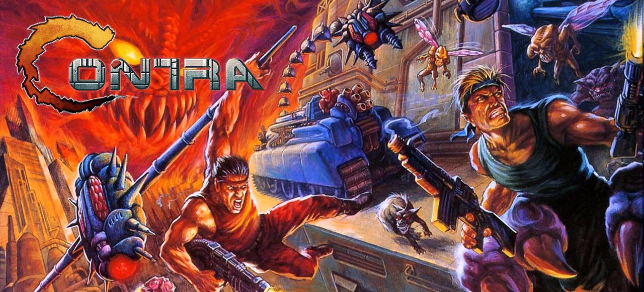 Contra 3: The Alien Wars (Arcade-Action) von Konami