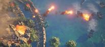 City of Atlantis: Aufbau, Verwaltung und Verteidigung der aufgetauchten Stadt