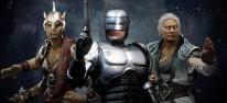 Mortal Kombat 11: Aftermath: Spielszenen-Trailer zeigt Robocop, Fujin und Sheeva im Kampf