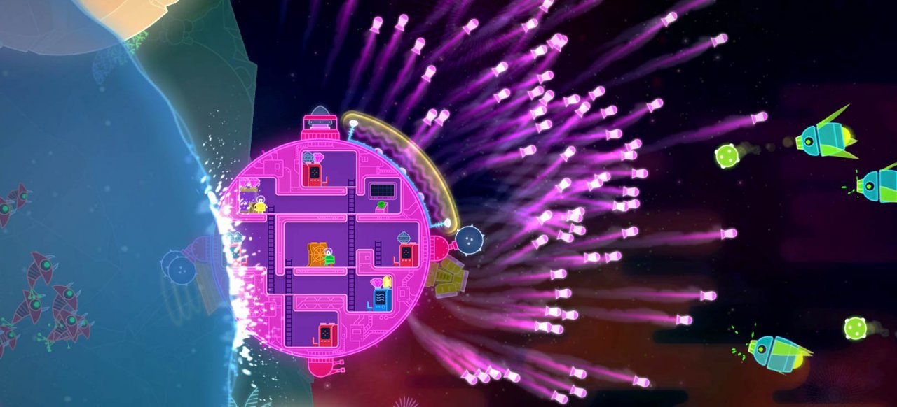 Lovers in a Dangerous Spacetime (Action) von