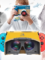 Alle Infos zu Nintendo Labo: Toy-Con 04: VR-Set (Switch,VirtualReality)