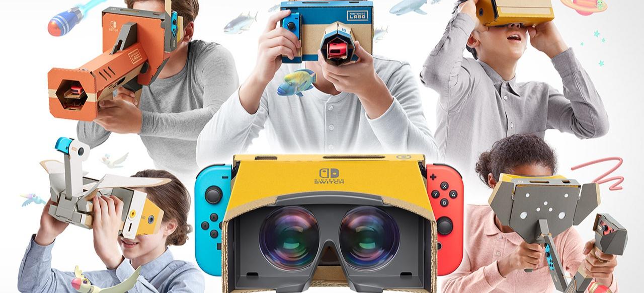 Nintendo Labo: Toy-Con 04: VR-Set (Hardware) von Nintendo