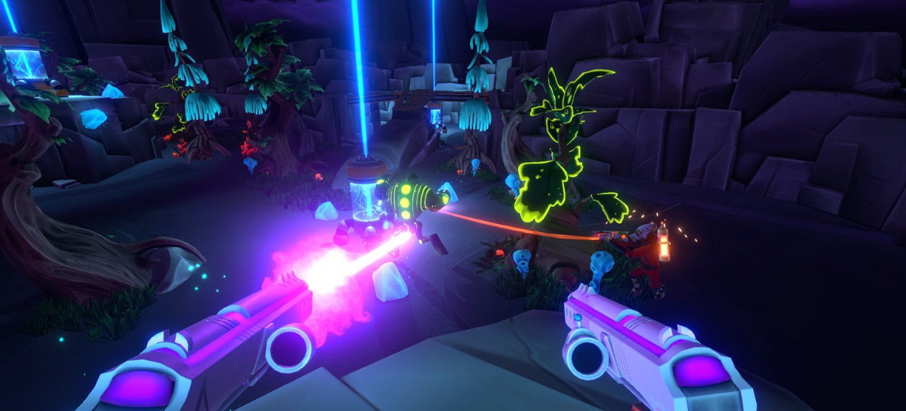 Aftercharge (Shooter) von Chainsawesome Games