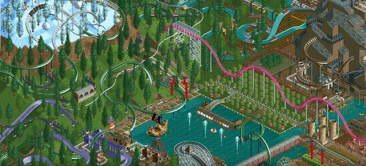 roller coaster tycoon 2 mac steam