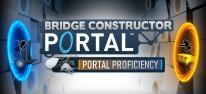 Bridge Constructor Portal - Portal Proficiency: Erste Erweiterung mit platzierbaren Portalen