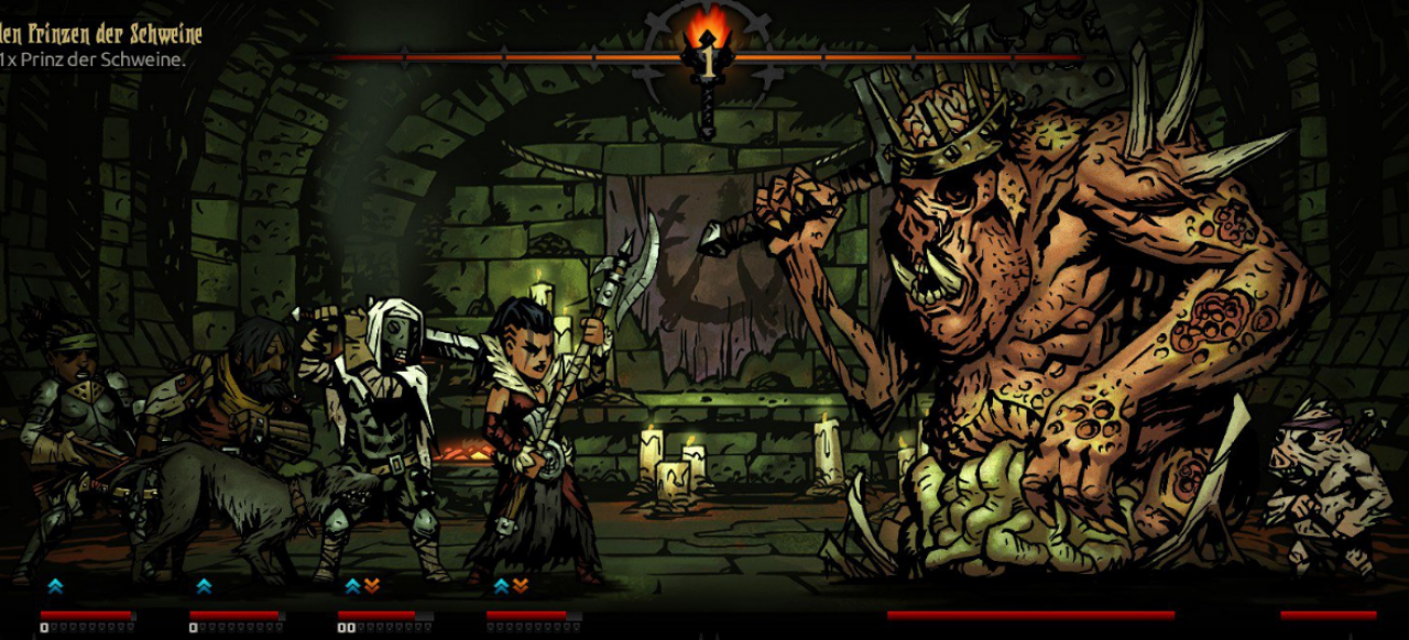 Darkest Dungeon (Taktik & Strategie) von Red Hook Studios